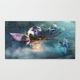 Floating residences Canvas Print