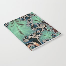 Azure - Fractal Art Notebook