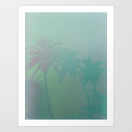 Palm Stories 3 Art Print