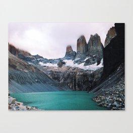 [№5] Pastel Patagonia Canvas Print