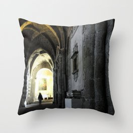 Sovana Cathedral Throw Pillow