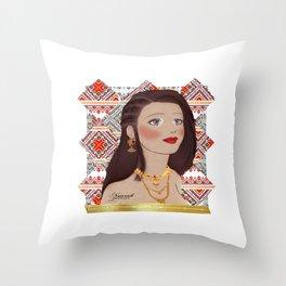 Arabian Throw Pillow