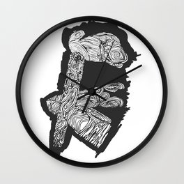 joints Wall Clock