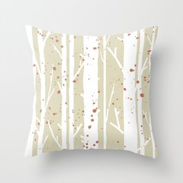 Into The Woods, light Throw Pillow