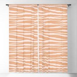 Zebra Print - Toffee Caramel Blackout Curtain