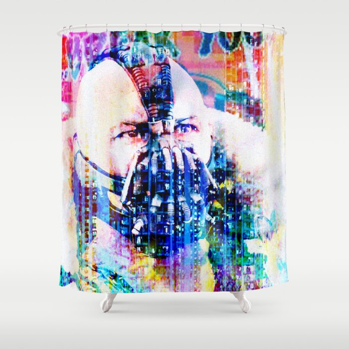 You only adopted the dark... Shower Curtain