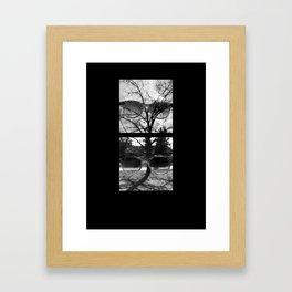 Take Off Your Sunglasses Framed Art Print