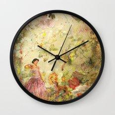dreaming backward Wall Clock