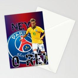 O REI NEYMAR Stationery Cards