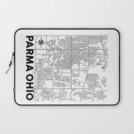 Parma Ohio Map Laptop Sleeve