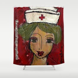 The Giving Spirit Shower Curtain