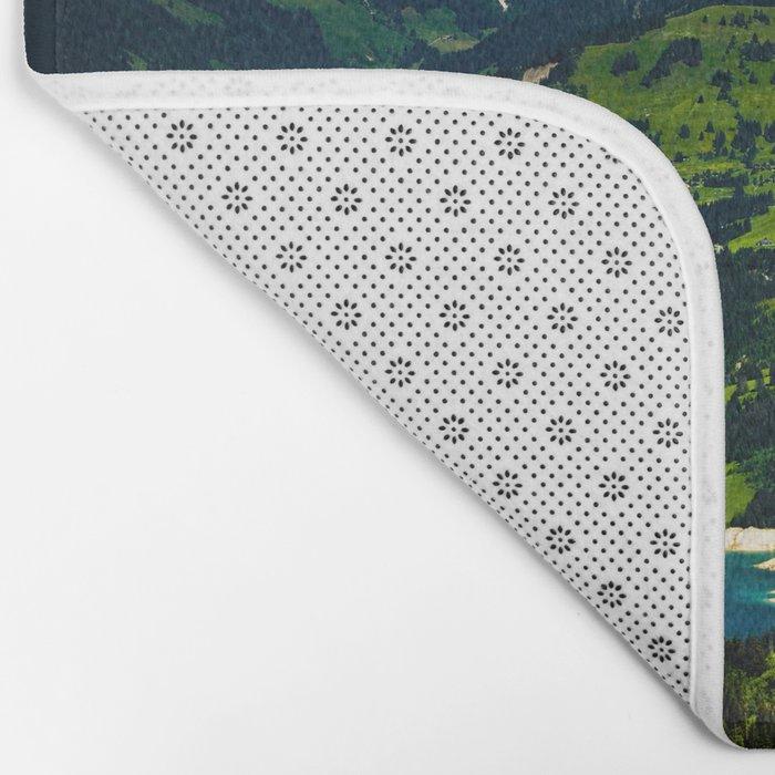 Swiss Alps Bath Mat