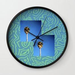 Lavish Glitch Wall Clock