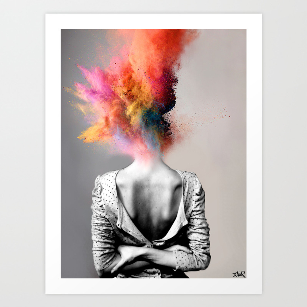 Pop surrealism art prints society6 for Wall art prints