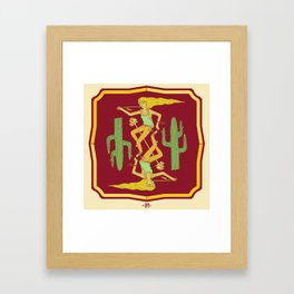 Day Tripper. (conjoined twins) Framed Art Print