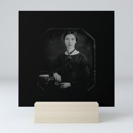 Portrait of Emiliy dickinson Mini Art Print