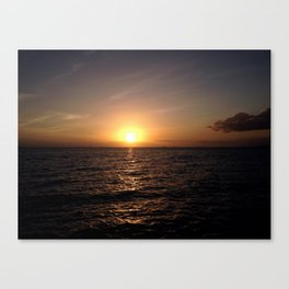 Trinidad Sunset Canvas Print
