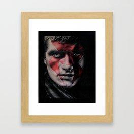 MJ Part 2 - Peeta Mellark Drawing Framed Art Print