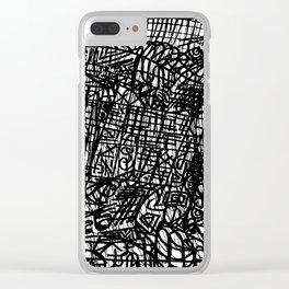 'a!!!' Clear iPhone Case