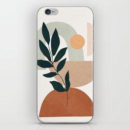 Soft Shapes IV iPhone Skin