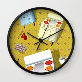 Time to cook! Wall Clock