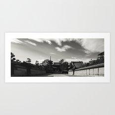 Long Walk. Art Print