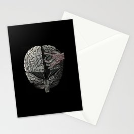 VULNERABLE BRAIN Stationery Cards