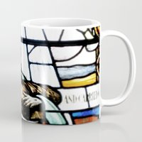 christ Mugs featuring Jesus Christ by miss|melissa