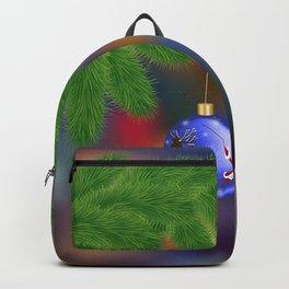 Christmas background Backpack