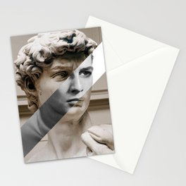 Michelangelo's David & Marlon Brando Stationery Cards
