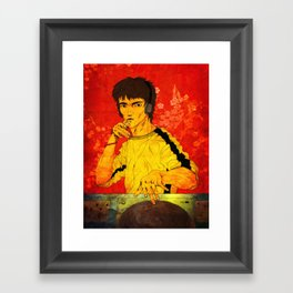 DJ Lee Framed Art Print