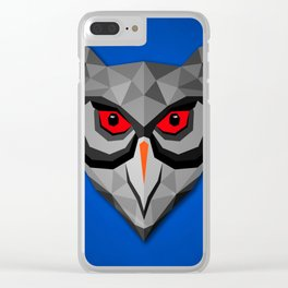Owl SS Clear iPhone Case