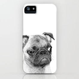 Biggy // Pug iPhone Case