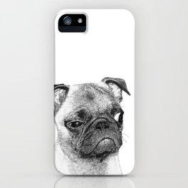 Biggy // Pug iPhone Case