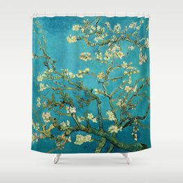 Vincent Van Gogh Blossoming Almond Tree Shower Curtain
