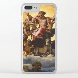 """Raffaello Sanzio da Urbino """"Ezekiel's Vision"""", 1518 Clear iPhone Case"""