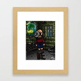 La liberté Framed Art Print