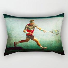Nadal Tennis Forehand Rectangular Pillow