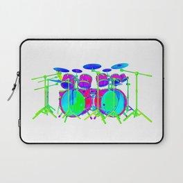 Colorful Drum Kit Laptop Sleeve