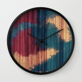 Wood Splash Wall Clock