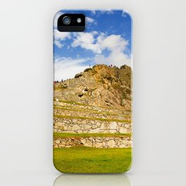 Machupicchu Sanctuary landscape iPhone Case