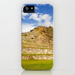 Machupicchu Sanctuary landscape iPhone Case