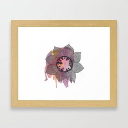 Spring Creature Framed Art Print