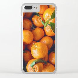 Clementines Clear iPhone Case