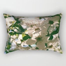 spring is inspiration Rectangular Pillow