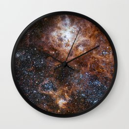 Tarantula Nebula in the Large Magellanic Cloud Wall Clock