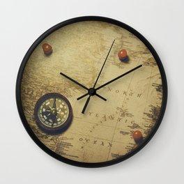 Destinations Wall Clock