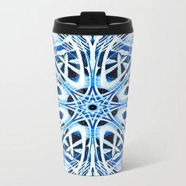 Zebra Labryinth Travel Mug