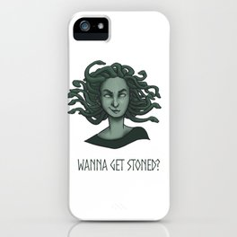 Sassy Medusa iPhone Case