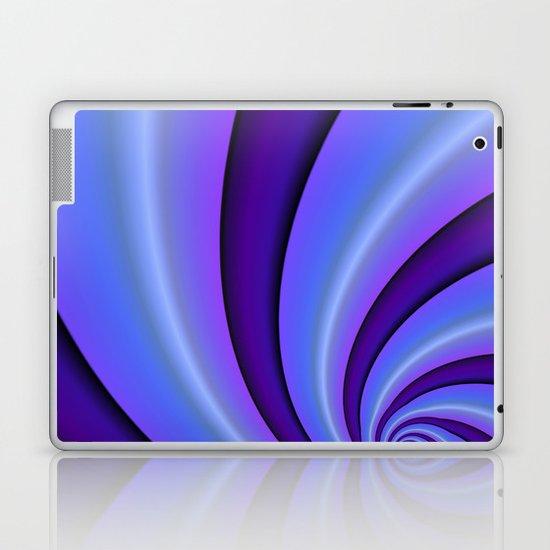 Purple Twist Laptop & iPad Skin
